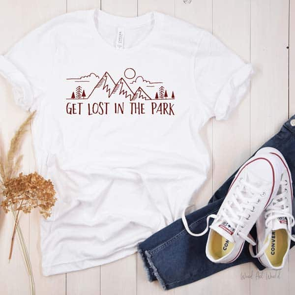 Get Lost in the Park T-shirt