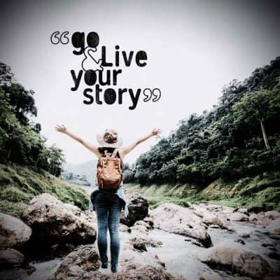 Go and live your story mockup