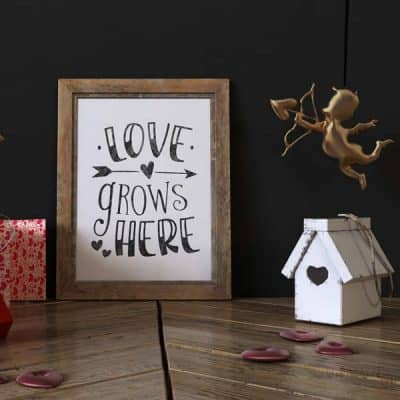 love grows here printable