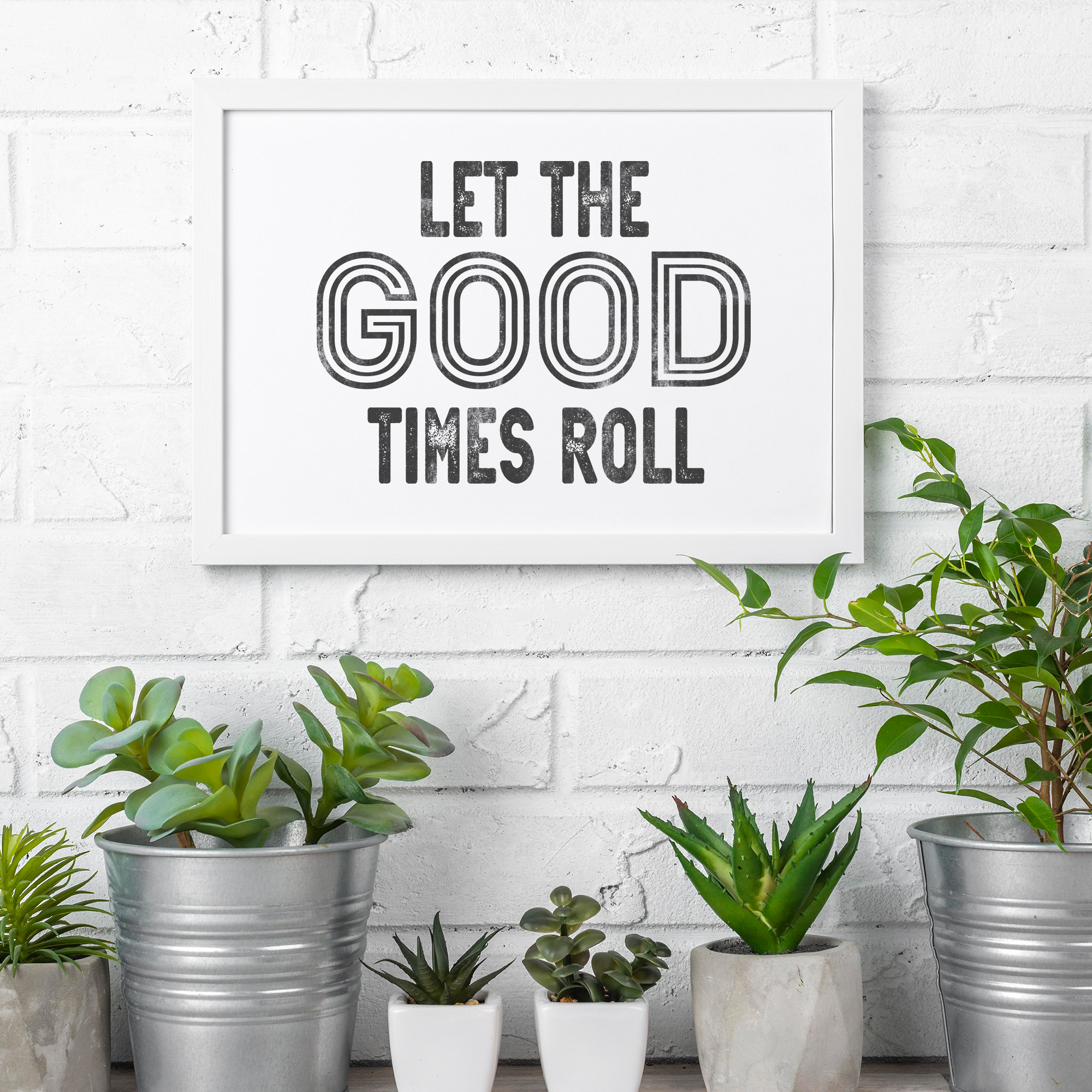 Let the Good Times Roll Mockup